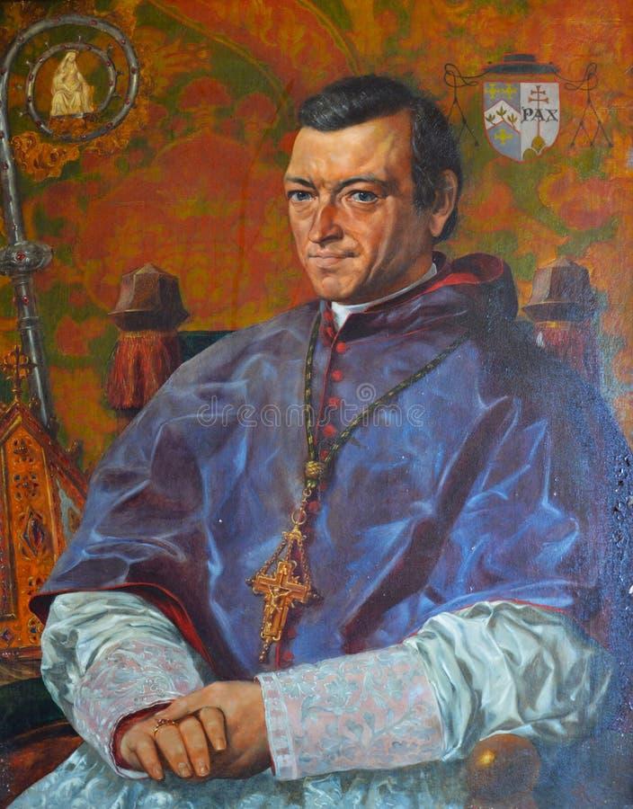 Porträt von William Bernard Ullathorne lizenzfreie stockbilder
