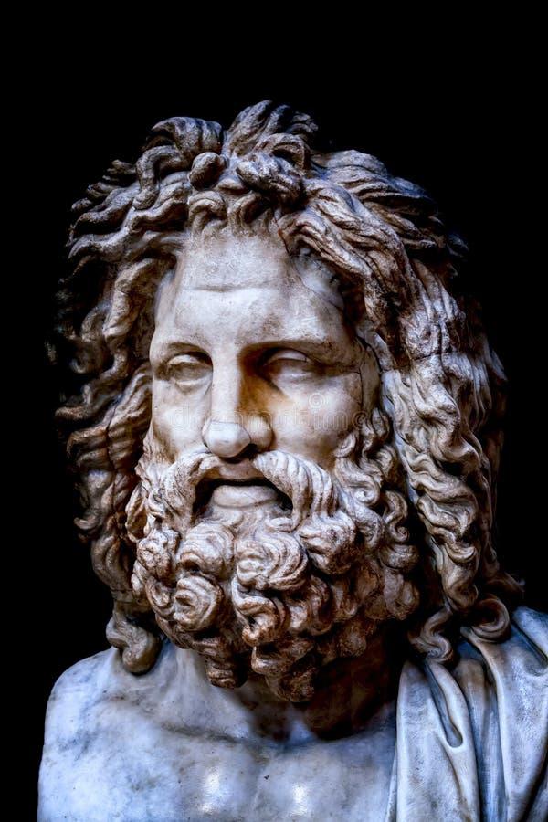 Porträt von Zeus stockbilder