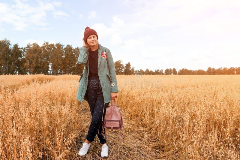 Porträtstudentin lizenzfreies stockfoto