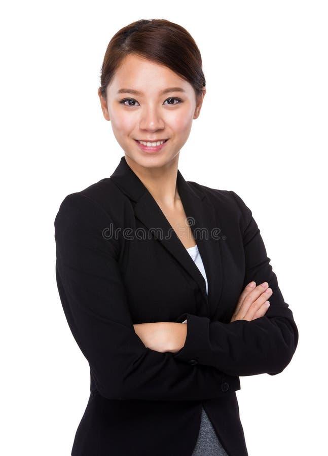 Portrai da mulher de negócios foto de stock royalty free