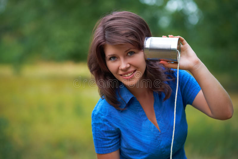 portraint of young girl royalty free stock images