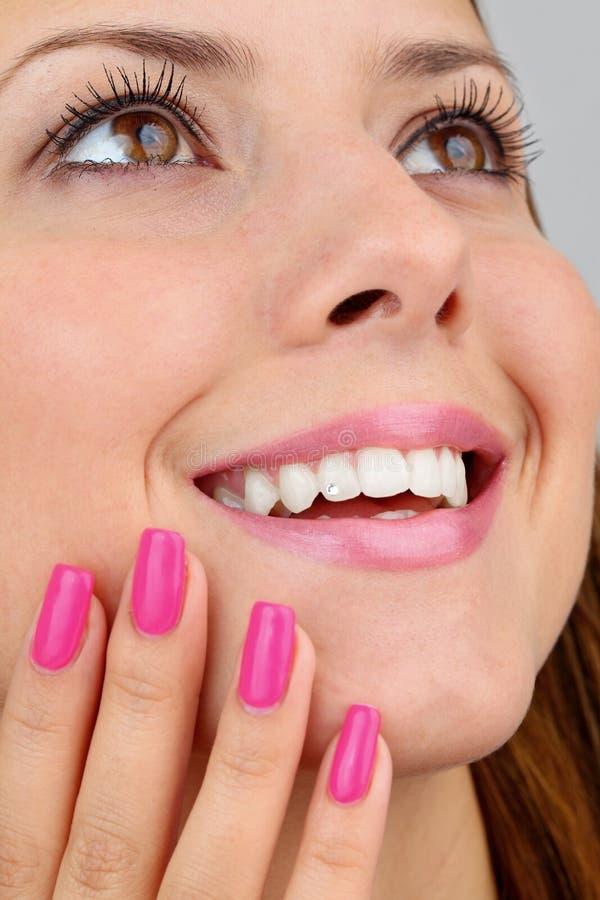 Download Portrait stock image. Image of face, feminine, fingers - 19175285