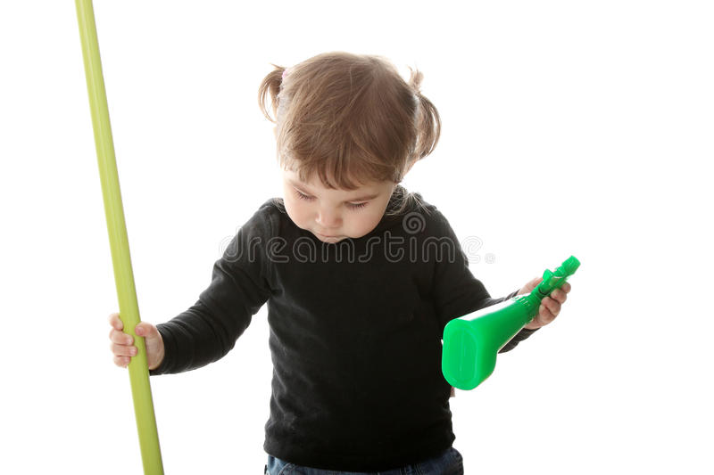Download Portrait Of A 2 Year Old Girl Stock Photo - Image: 11822324