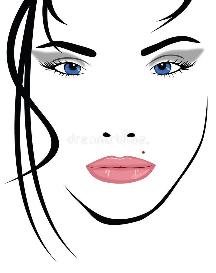 Portrait royalty free illustration