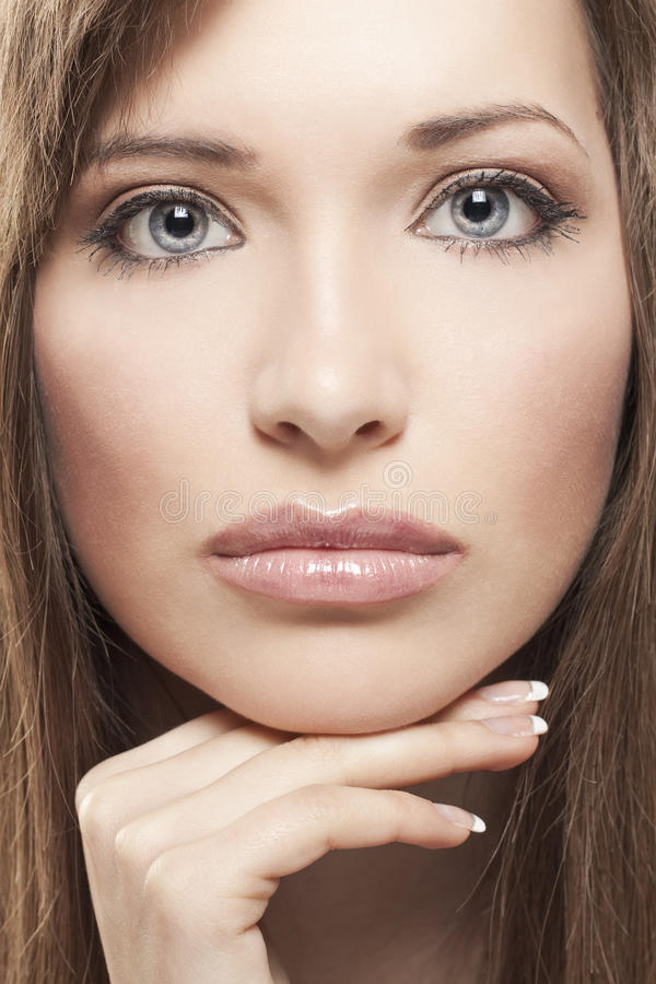 Download Portrait stock photo. Image of eyes, attractive, fashion - 24992398