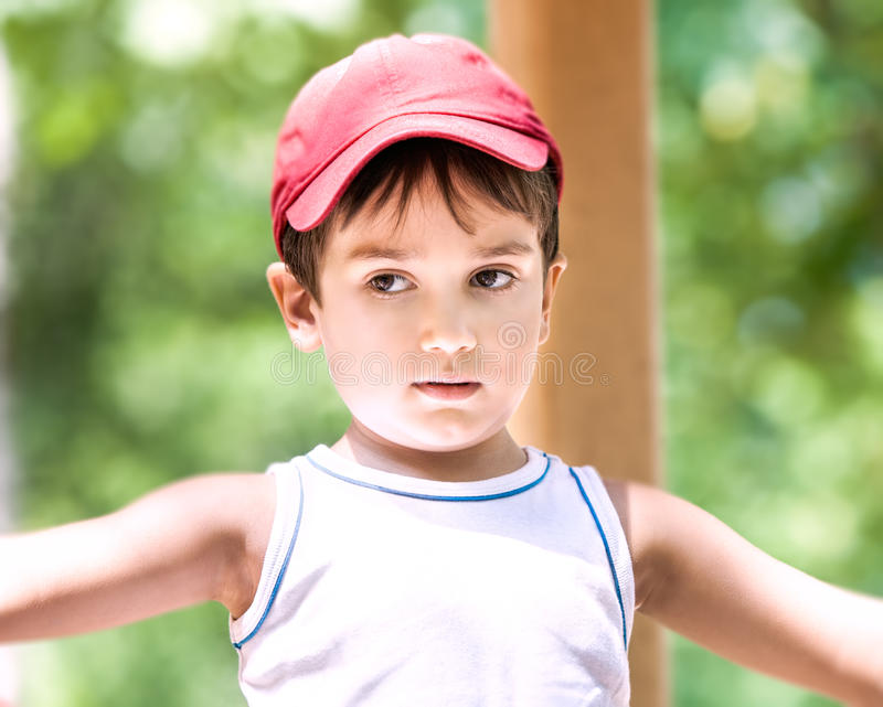 Download Portrait Of A  3-4 Years Boy Stock Photo - Image: 26072030