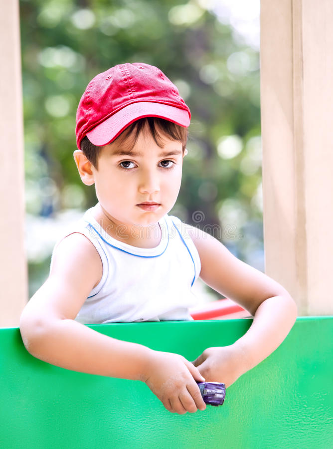 Download Portrait Of A  3-4 Years Boy Stock Photo - Image of cool, grow: 26072036