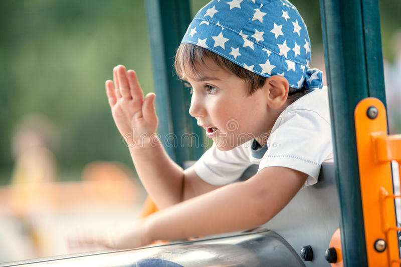 Download Portrait Of A  3-4 Years Boy Stock Image - Image: 26081747