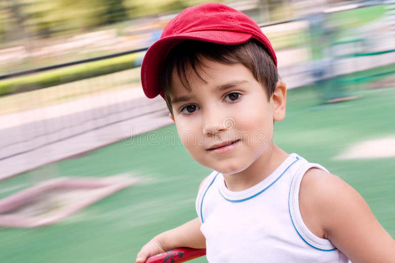 Download Portrait Of A 3-4 Years Boy Stock Image - Image: 26081761