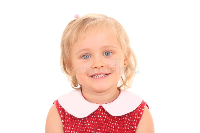 Download Portrait Of 4 Years Old Girl Stock Image - Image: 3198233