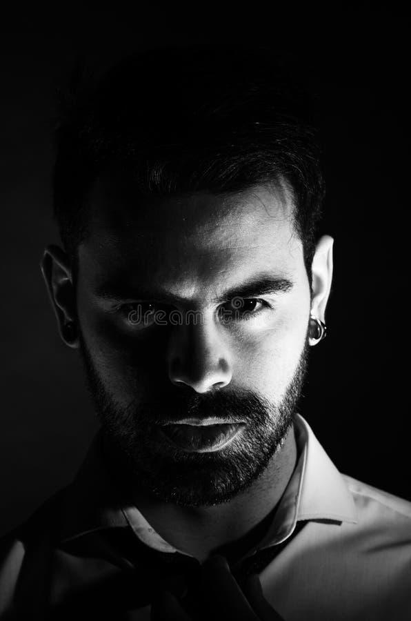 Portrait image libre de droits