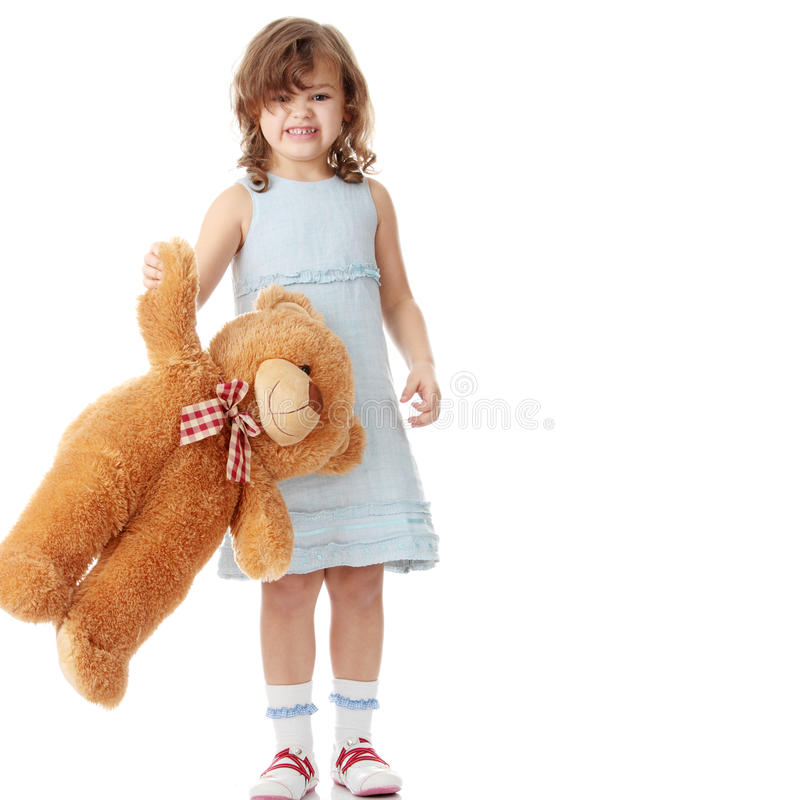 Download Portrait Of A 5 Year Old Girl Stock Photo - Image: 11772184