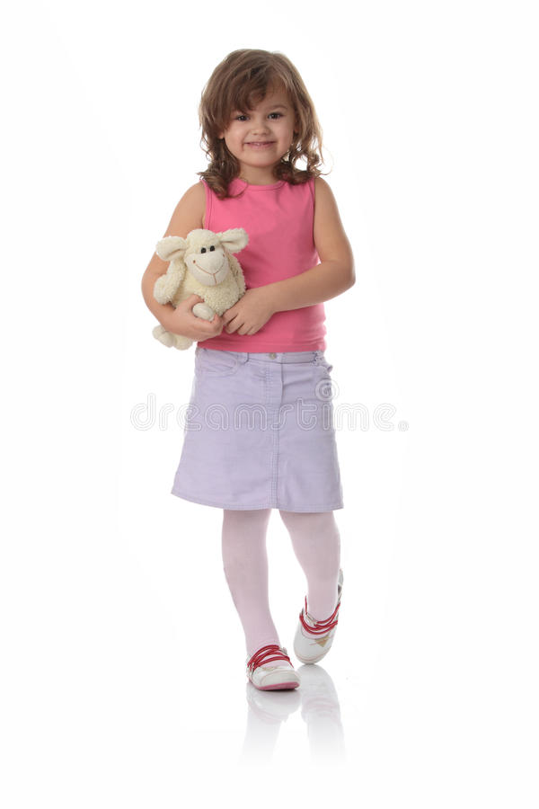 Download Portrait Of A 5 Year Old Girl Stock Image - Image: 11772297