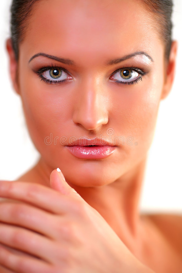 Download Portrait stock image. Image of hygiene, lips, face, adult - 9067501