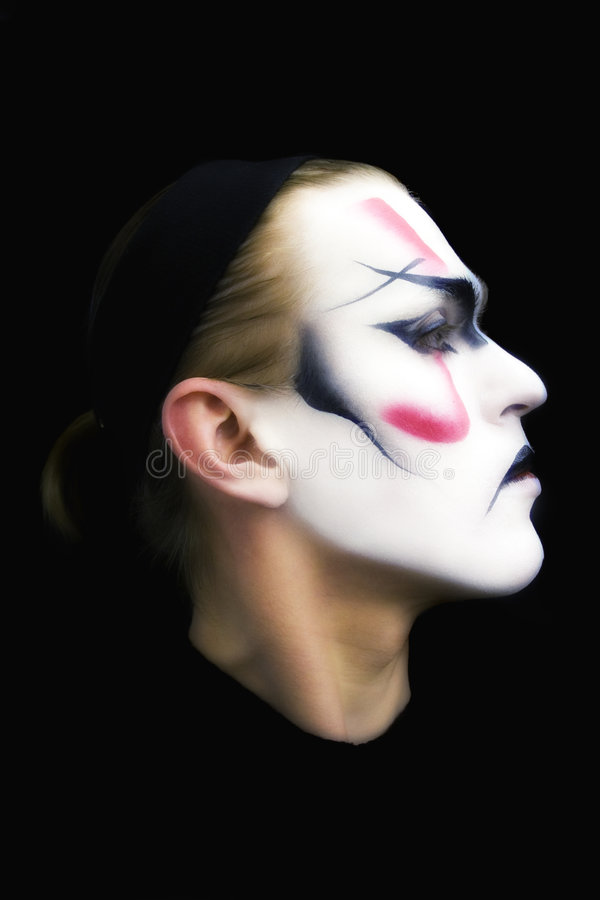 Download Portrait Of The Actor Kabuki Stock Photo - Image: 7147706