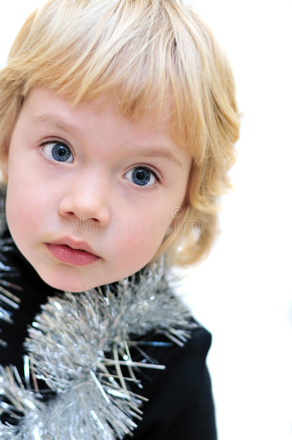 Download Portrait Of Adorable Little Girl Stock Photo - Image: 11832142