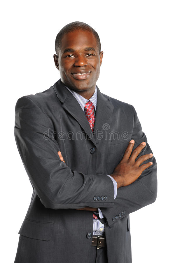 Download Portrait Of African American Businessman Stock Photo - Image: 21493316