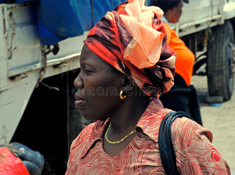 Download Portrait Of African Woman Editorial Stock Photo - Image: 83722488