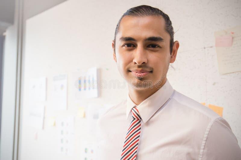 Portrait of arab business man stock photos