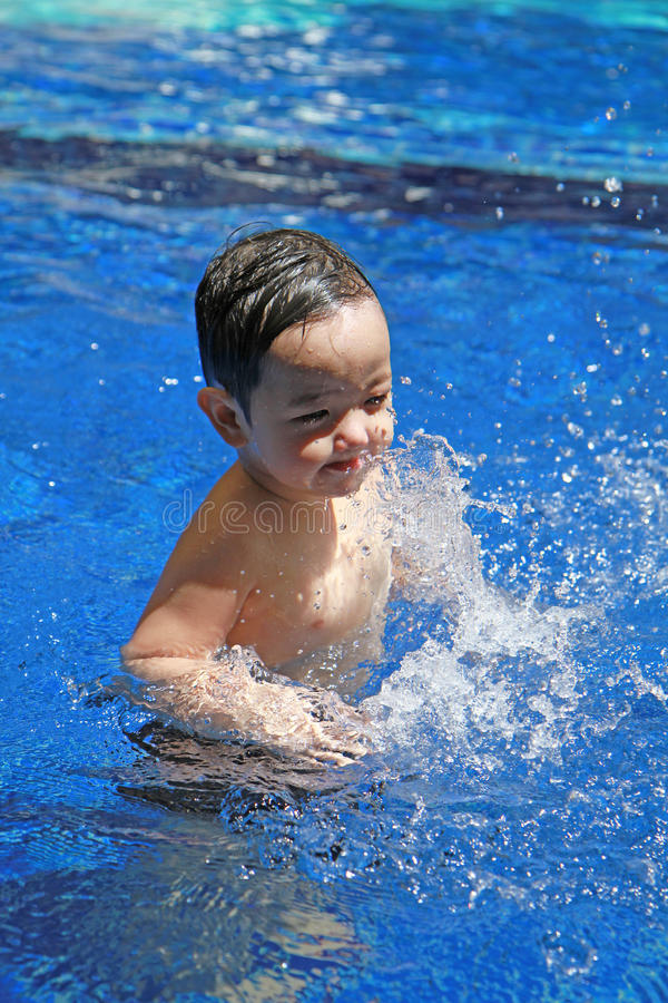 Download Portrait of asian boy stock image. Image of blue, childhood - 26499027