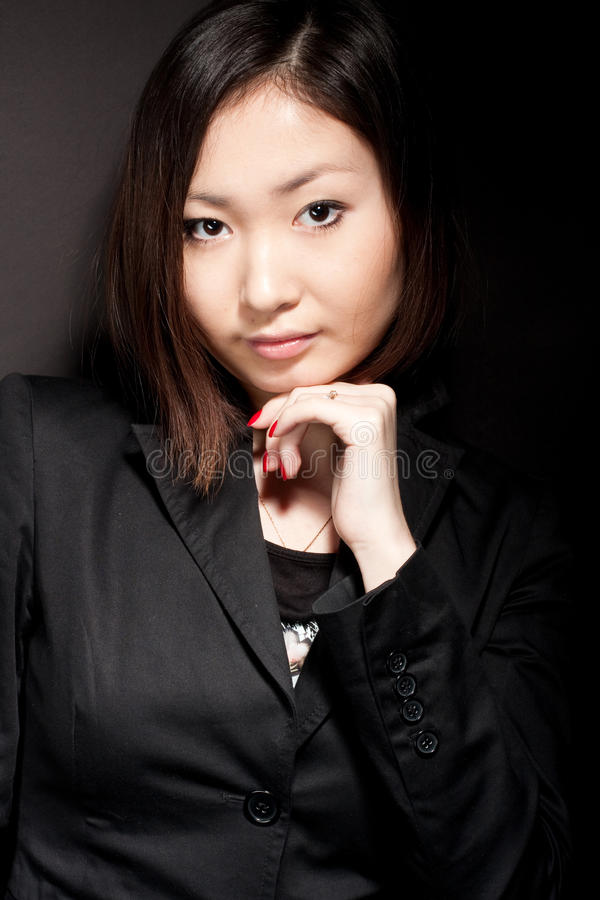 portrait of asian business woman stock images