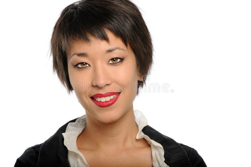 Portrait of Asian Businesswoman royalty free stock images