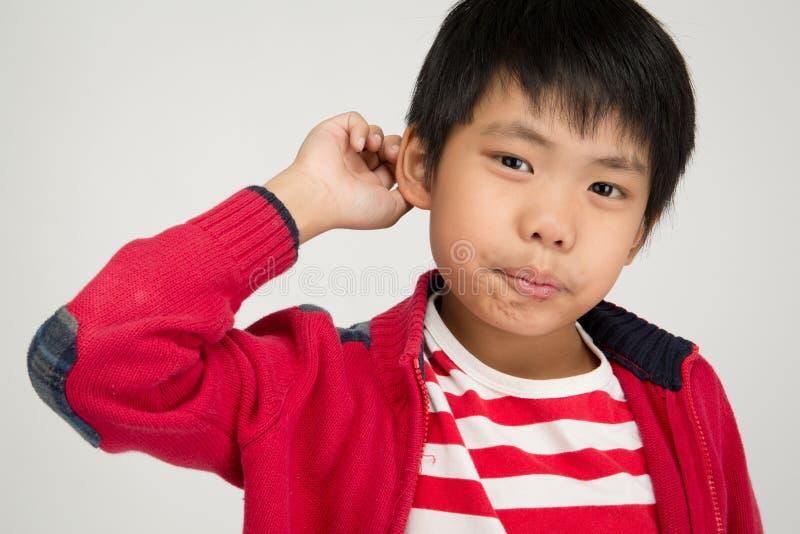 Asian boy happy 7