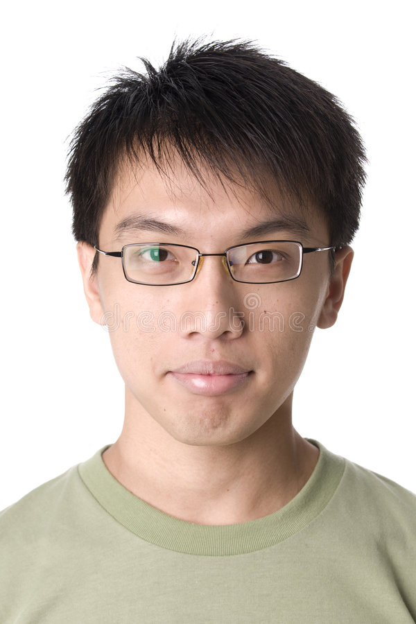 Portrait of asian man stock photography