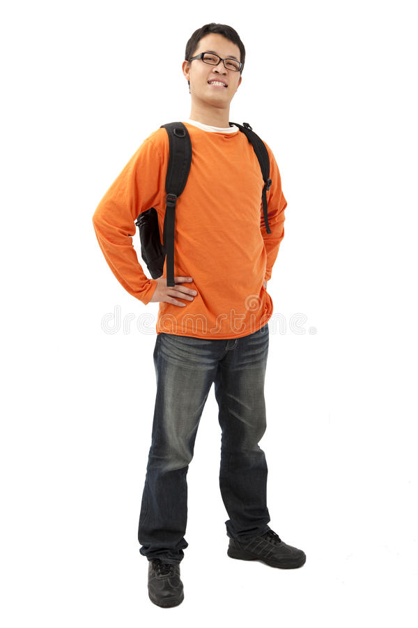 Portrait Of Asian Student Stock Images