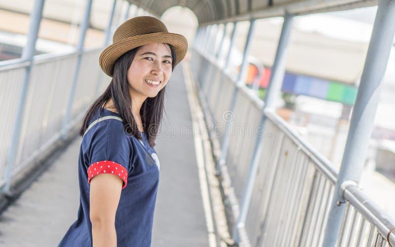 Portrait of a asian woman stock photo