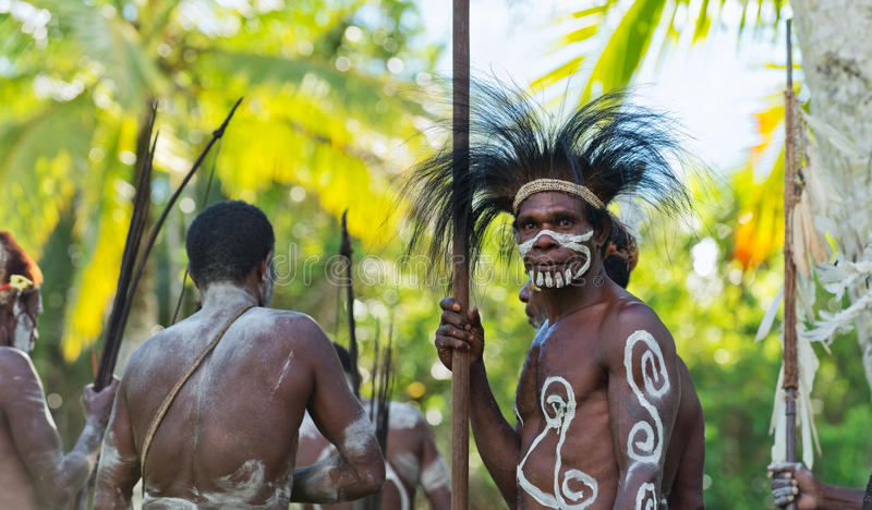 Download Portrait of the Asmat man editorial stock photo. Image of aboriginal - 26382018