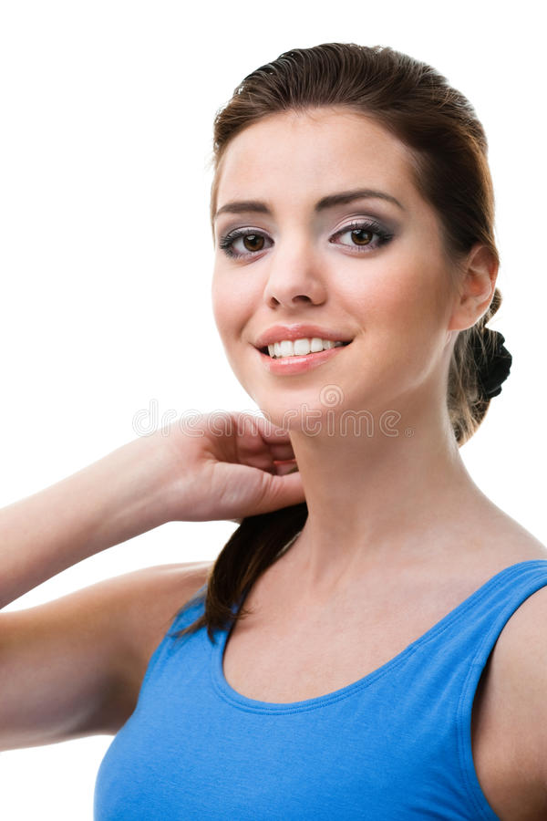 Download Portrait Of A Athletic Woman Stock Photo - Image: 28882344