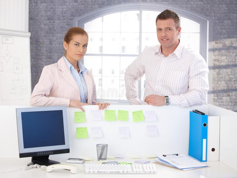 Download Portrait Of Attractive Smiling Office Workers Stock Photography - Image: 27995152