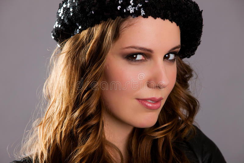 Portrait of Attractive Woman stock image