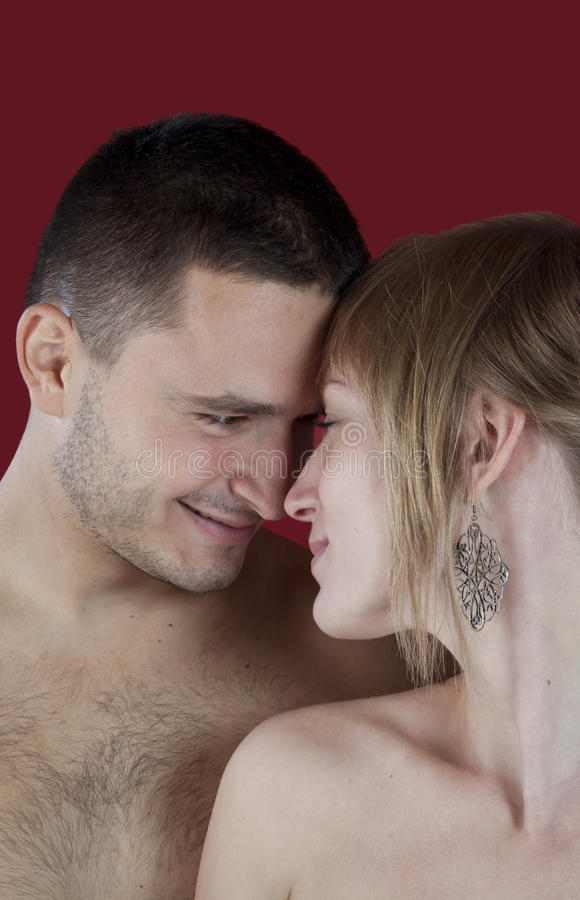 Download Portrait Of An Attractive Young Couple Stock Photo - Image of beauty, love: 21778684