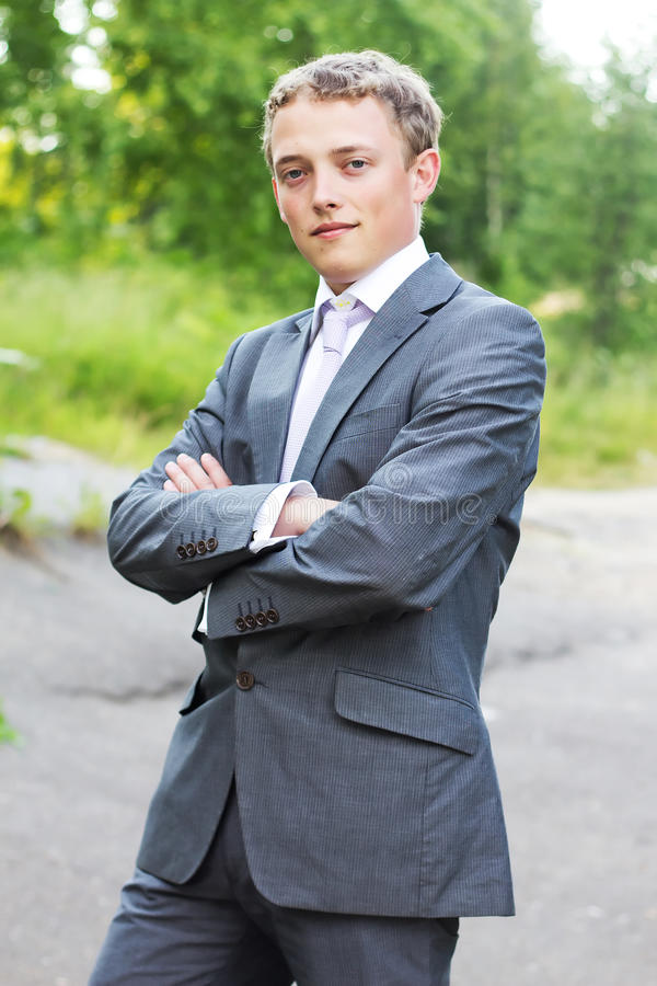 Portrait Of An Attractive Young Man Royalty Free Stock Photo