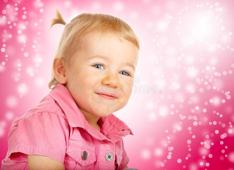 Portrait of Baby royalty free stock photo