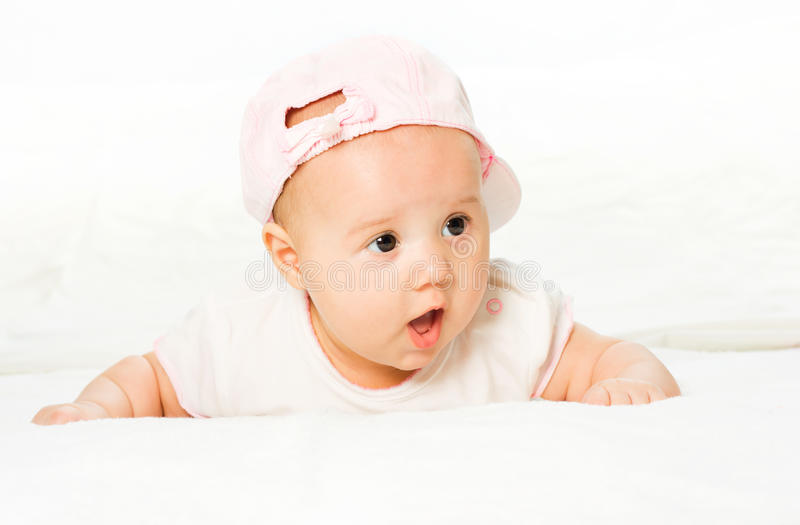 Download Portrait baby girl stock photo. Image of people, face - 13003570