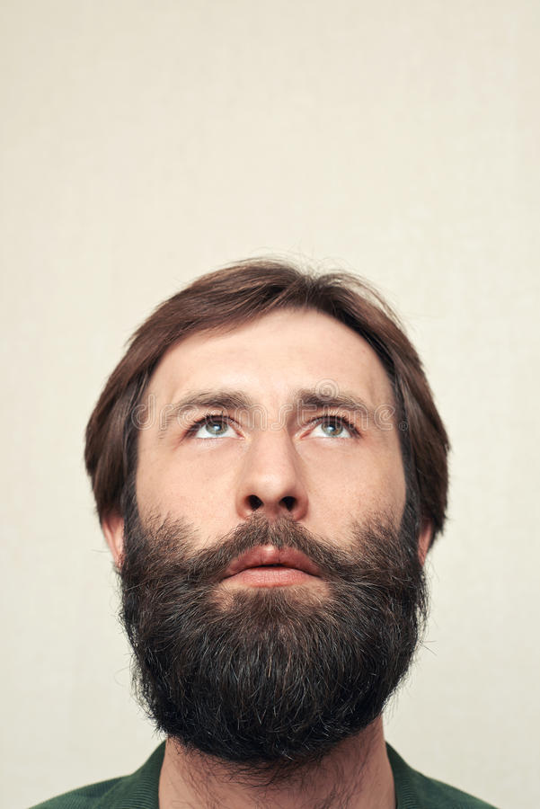 Download Portrait Of The Bearded Man Stock Photo - Image: 29118382