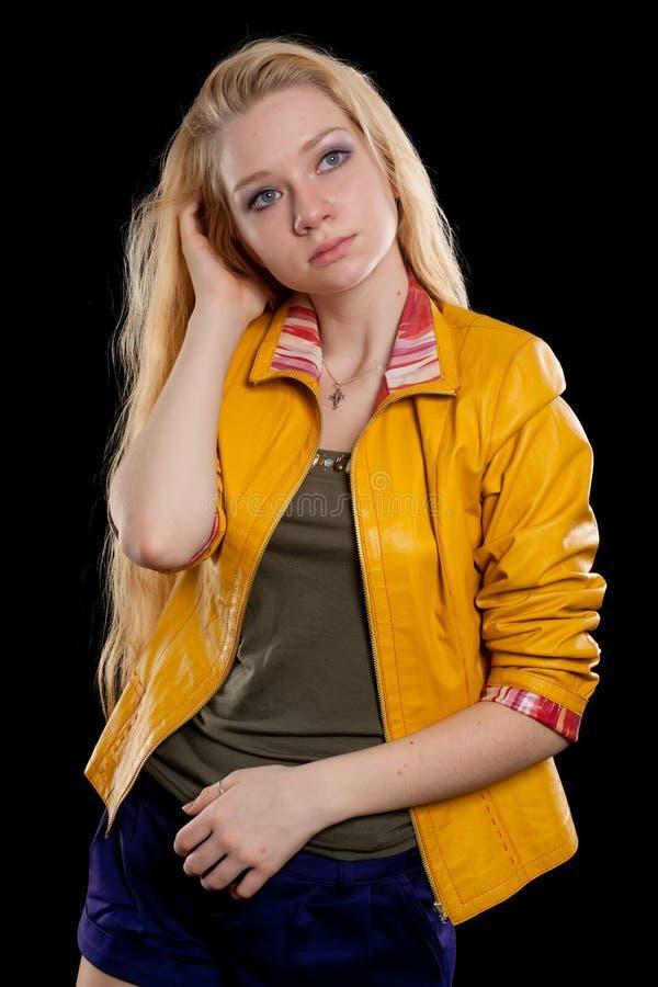 Download Portrait Of Beautiful Blonde Girl Stock Photo - Image: 26579134