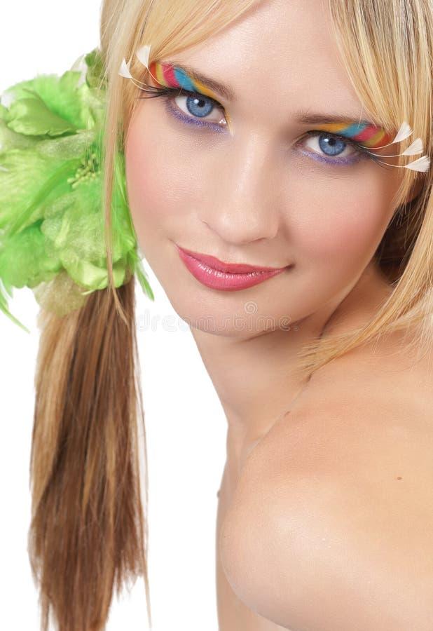 Download Portrait Of Beautiful Blonde Woman Stock Image - Image: 7204341