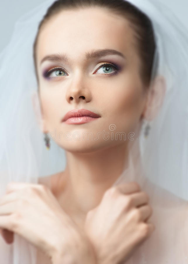 Download Portrait Of A Beautiful Bride Stock Photo - Image: 19398140