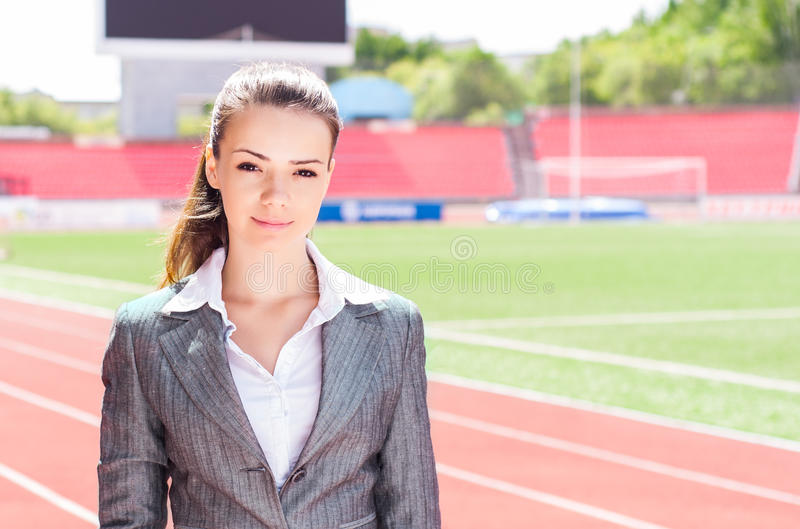 Download Portrait Of A Beautiful Business Woman Stock Image - Image: 27571991