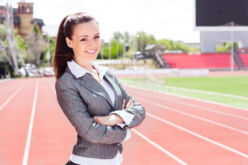 Download Portrait Of A Beautiful Business Woman Stock Photo - Image: 27572006