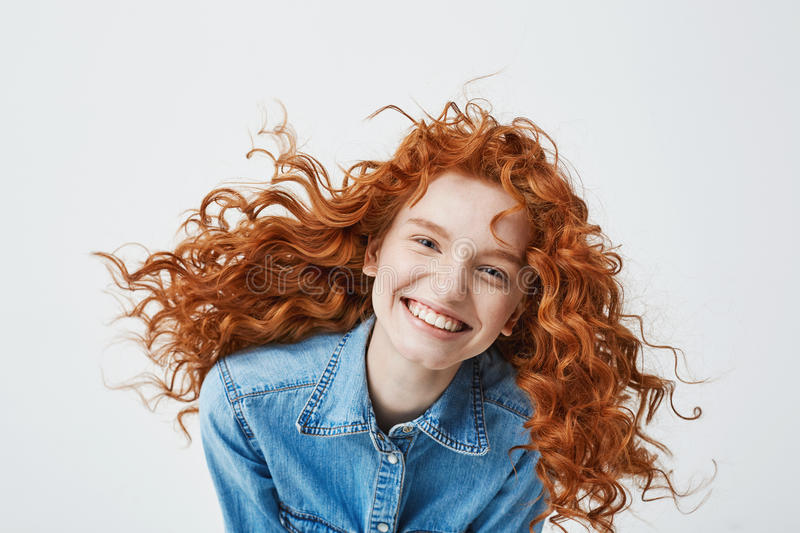 The laughing redhead