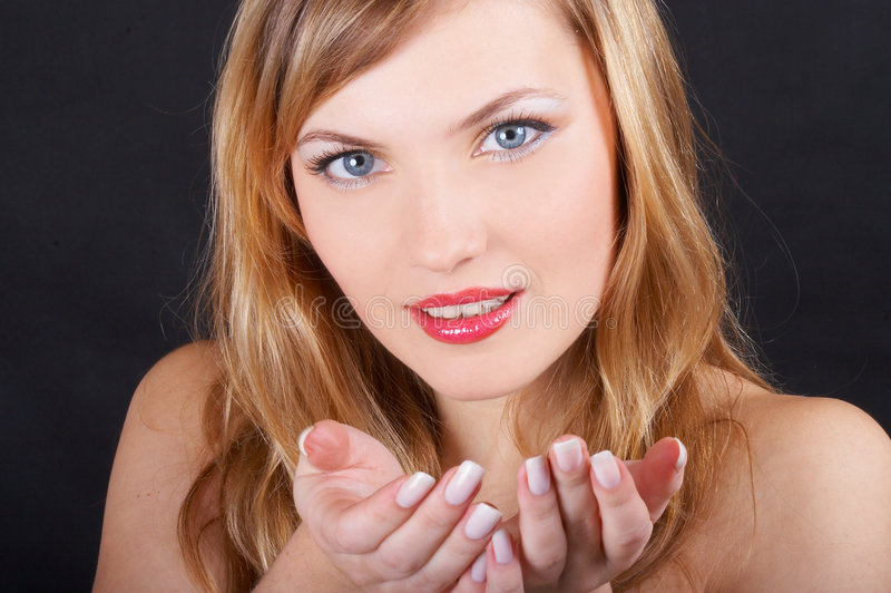 Portrait Beautiful Girl Stock Photography
