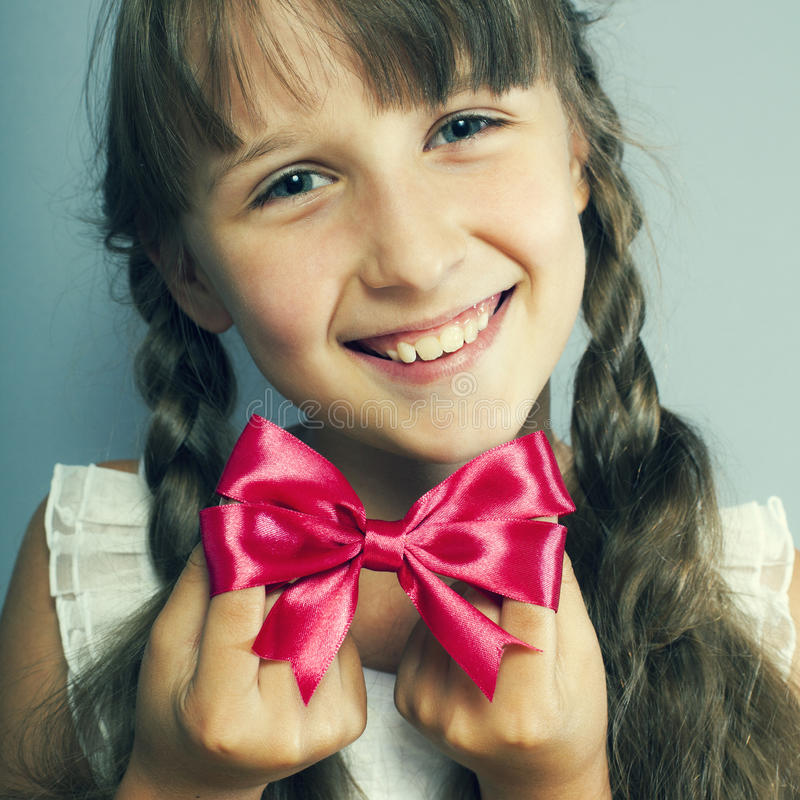 Portrait Of The Beautiful Girl Royalty Free Stock Image