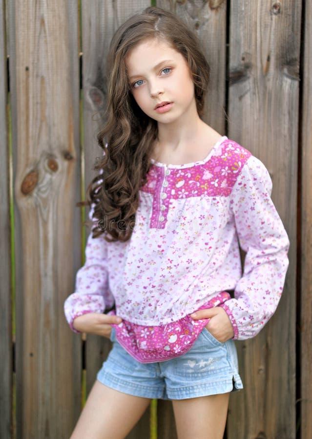 Portrait Of A Beautiful Little Girl Stock Photo Image 42979262