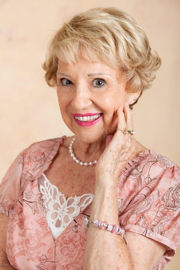 Download Portrait Of Beautiful Senior Woman Stock Image - Image: 26092217