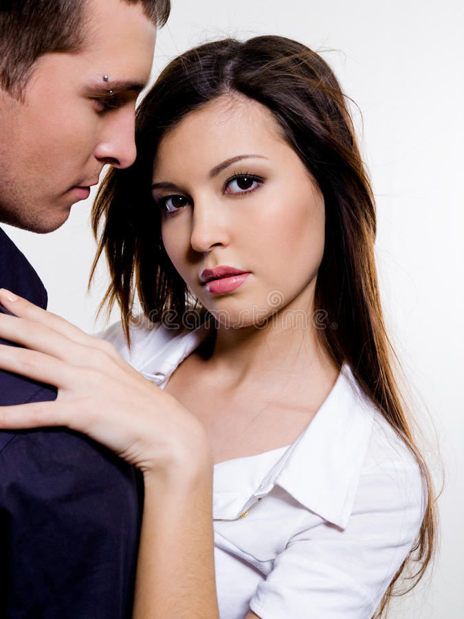 Download Portrait Of Beautiful Sexual Couple Stock Photo - Image: 12295598